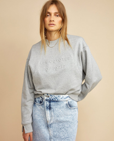 Riley Sweatshirt Grey Melange