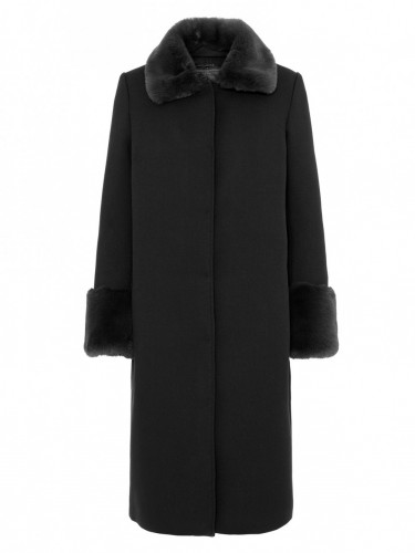 Serena Coat Black