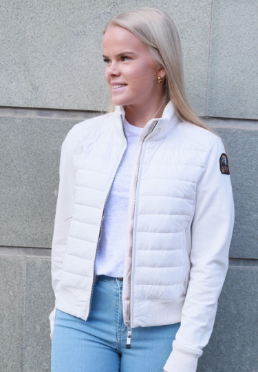 Rosy Jacket White Cream