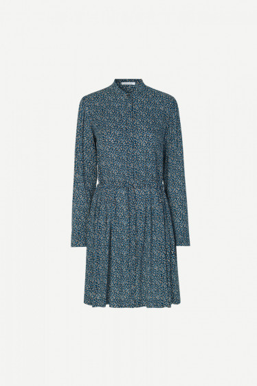 Monique Shirt Dress Blue Twiggy
