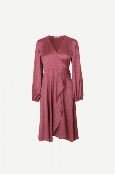 Veneta Dress Heather Rose