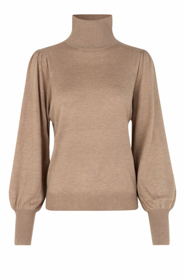 Rosie Knit T-Neck Ginger Root