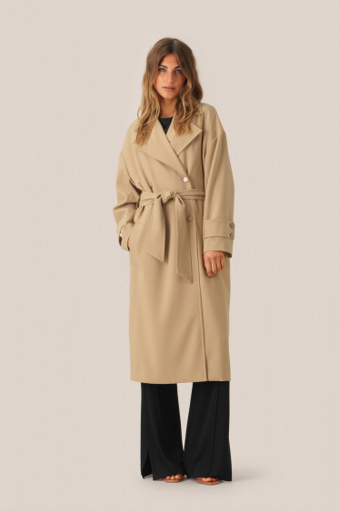 Silvia Trench Coat Beige