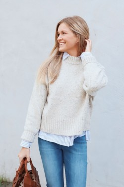 Boxy Mock Sweater