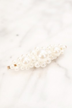 Miss Pearly Hair Pin Gold