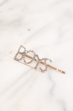 Spell Me Crystal Hairpin BOYS Gold