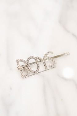 Spell ME Crystal Hairpin BOYS Silver