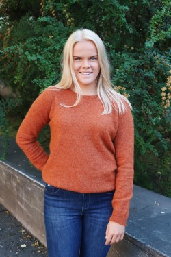 Fiona Sweater Rust Melange