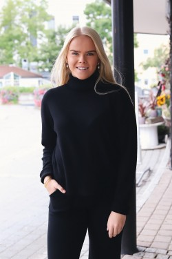Milano Turtleneck Black