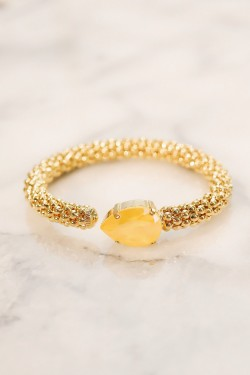 Classic Rope Bracelet Buttercup Yellow Gold