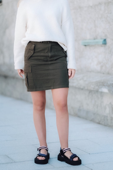 Camilo Skirt Dark Green