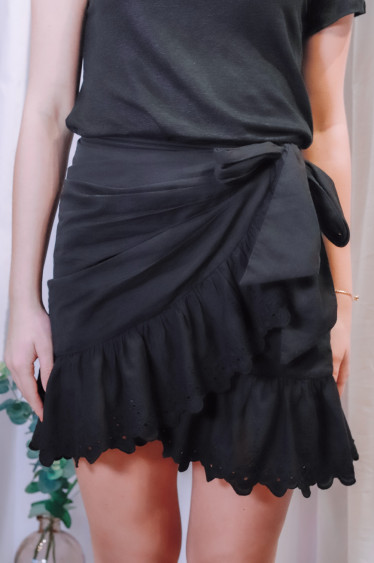 Hayley Skirt Black
