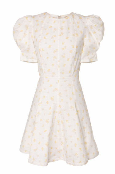 Poppy Linen Dress Wildflower